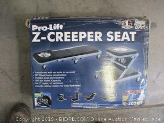 Pro-Lift Z-Creeper Seat