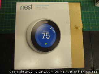 Nest Learning Thermostat  missing parts
