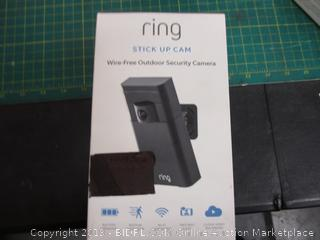 Ring Stick Up Cam Wire Free Outdoor Security Camera