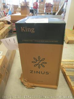 "Zinus King 12"" Memory Foam Mattress"