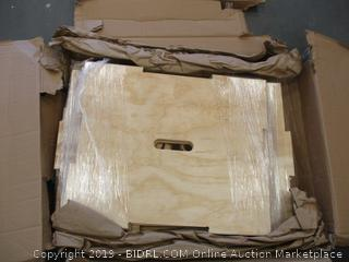 Rage Wood Puzzle Plyo Cube