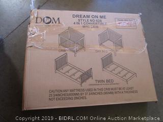 Dream On Me 4 in 1 Convertible Crib