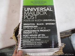 Gibraltar Universal Mailbox Post