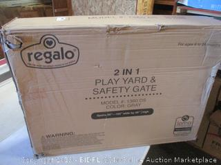 Regalo Play Yard and Safety Gate