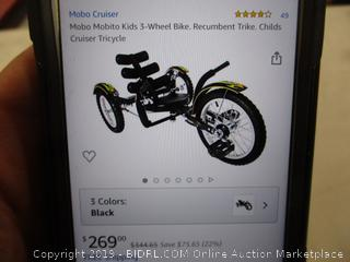 Mobo Mobito 3 Wheel Bike