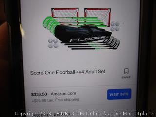 Score 1 Floorball Adult Set