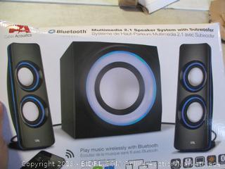 Multimedia Speaker System with Subwoofer