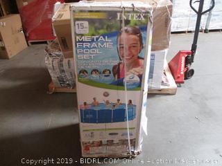 Metal Frame Pool Set