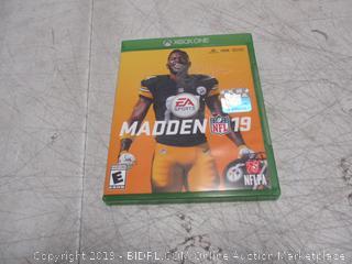 XBOX One Madden 19