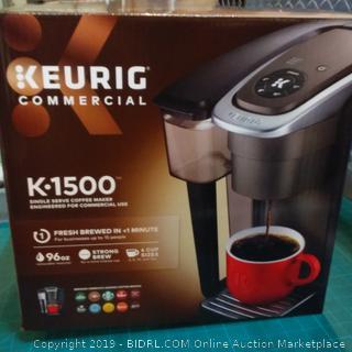 Keurig Commercial Single Serve Coffee Maker
