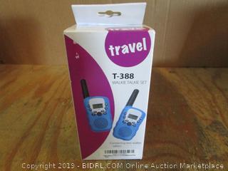 Travel Walkie Talkie