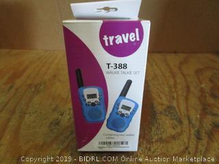 Travel Walkie Talkie Set