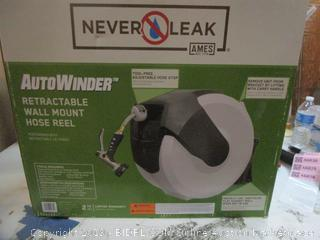 Never Leak Auto Winder Retractable Wall Mount Hose Reel