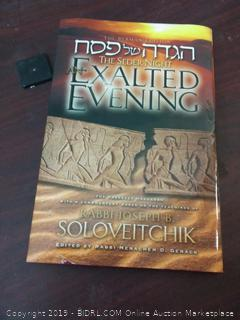 The Seder Night An Exalted Evening