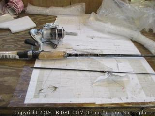 Fishing Rod and Reel damaged
