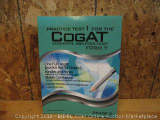 Practice Test 1 For the Cogat  Cognitive Abilities Test Form 7