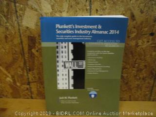 Plunkett's Investment & Securities Industry Almanac 2014