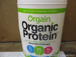 Orgain Organic Protein - Plant Based Protein Powder  dented