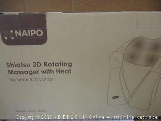 Naipo Shiatsu 3D Rotating Massager with Heat
