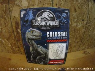 Jurassic World Colossal Coloring Book