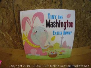 Tiny The Washington Easter Bunny
