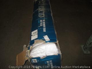 Lucid 10 Inch Gel Memory Foam Mattress, Queen