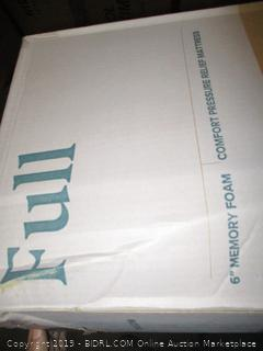 "Zinus 6"" Memory Foam Mattress, Full"
