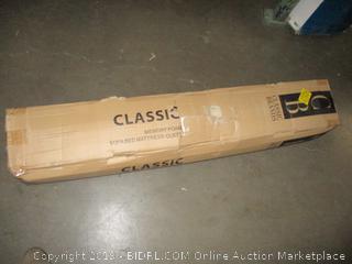 Classic Brands 4.5 Inch Memory Foam Replacement Mattress for Sleeper Sofa, Queen