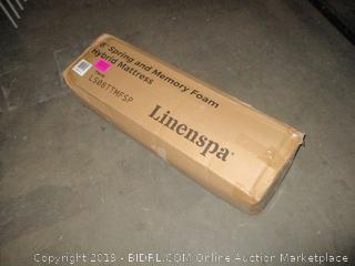 "Linenspa 8"" Spring and Memory Foam Hybrid Mattress, Twin"