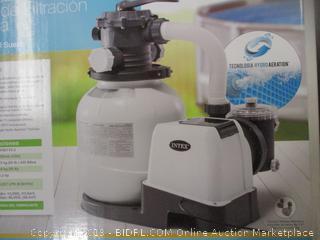 Intex Krystal Clear One Sand Filter Pump