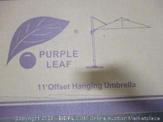 11' Offset Hanging Umbrella