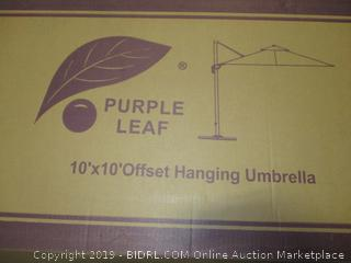 10'x10' Offset Hanging Umbrella