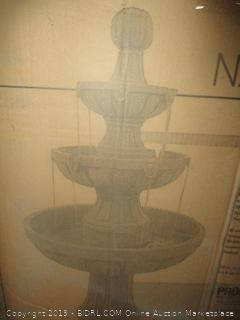 Bond Manufacturing Y97016 Napa Valley 45 inch Fiberglass Fountain (Retail $238.00)
