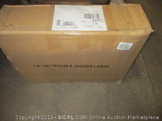 2-in-1 Pet Trailer & Jogger, Large