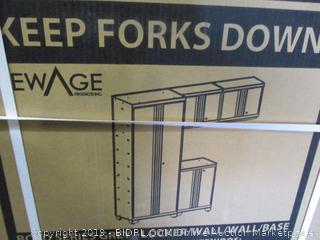 New Age Locker Bold Series Grey - 3 Pieces