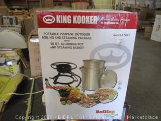 King Kooker Portable Propane Outdoor Boiling and Steaming Package