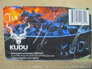 KUDU Grill Open Fire Outdoor BBQ Grilling System (Retail $490.00)