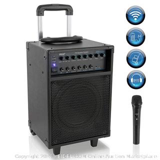 Wireless portable PA system Bluetooth capability rechargeable battery 400 watts( Factory sealed) online $145
