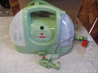 BISSELL LITTLE GREEN VACUUM (POWERS ON)