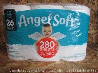 Angel Soft Jumbo Toilet Paper Rolls