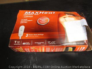 Max Heat Therapeutic Heating Pad