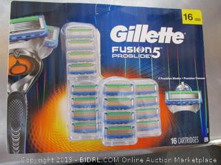 Gillette Fusion Proglide 5 Replacement Razor Heads/Cartridges
