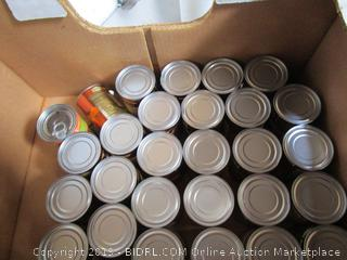 Box Lot Canned Food