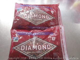 2 Pack Diamond Almonds