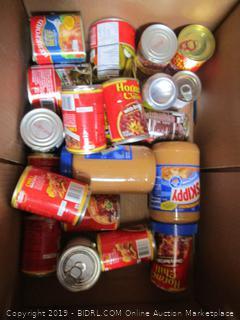 Box Lot Food: Peanut Butter, Beans