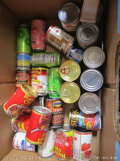 Box Lot Food: Beans, Sparkling Water