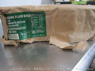 Brown Plain Bags