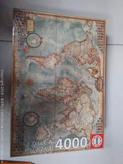 Educa World Map Puzzle, 4000 Pieces