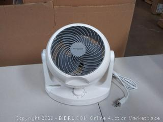 White & Grey Woozoo Circulating Fan (some damage, see pictures)