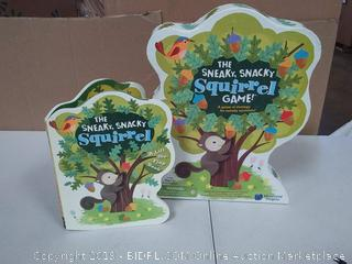 Educational Insights The Sneaky, Snacky Squirrel Game and Board Book Combo, Preschool Ages